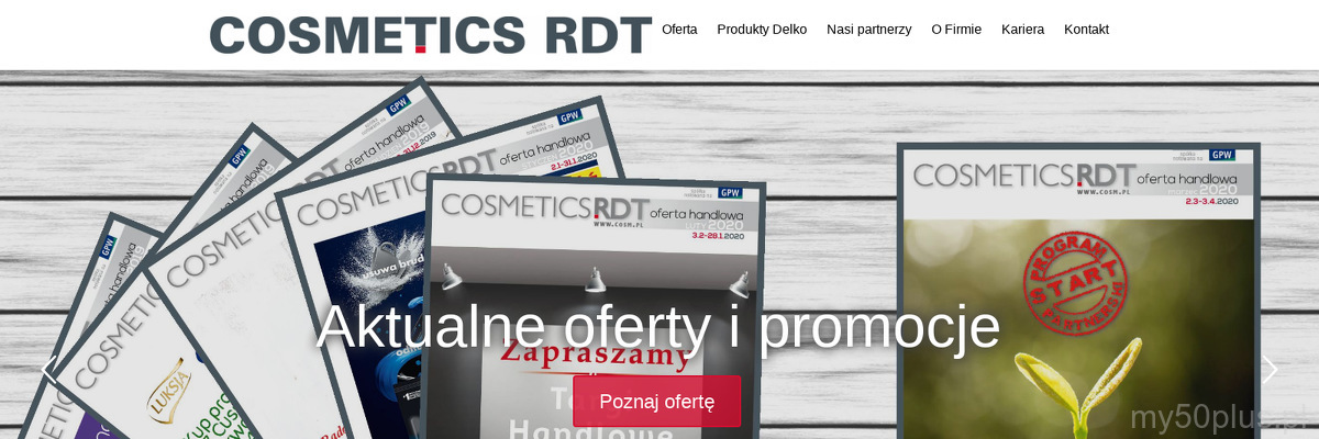 COSMETICS RDT SP Z O O